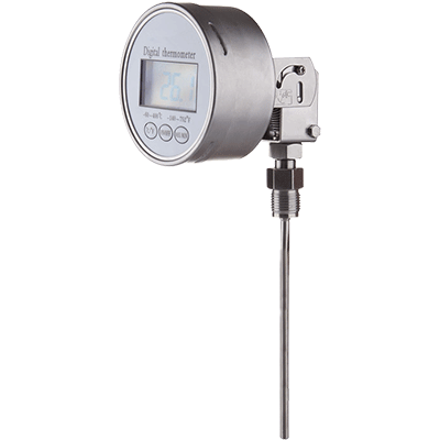 digital thermometer vertical