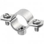 stainless steel pipe clamps m6 aisi 316 a4