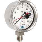 stainless steel pressure gauge with maximum needle